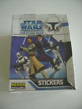 Merlin: Star Wars - The Clone Wars, 1x Display mit 50 Tüten, toprar von 2008 !!!