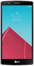 "LG G4 US991 32GB 4G LTE 5.5"" GSM Unlocked Smartphone For Parts Not Reading SIM"