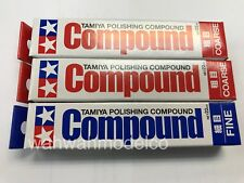 Tamiya 87068 (2) 87069 (1) Polishing Compound SET 22ml