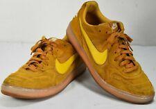 Rare Nike Tiempo 94 Mid Suede Yellow Indoor Soccer Shoes 631689-778 Men Sz 11.5