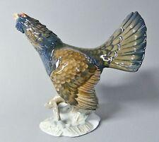 Rosenthal Vogel Figur, Auerhahn, Mod.Nr.1695, Höhe 17,5 cm Entwurf: Heidenreich