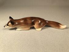 Royal Doulton Stalking Fox Figurine In Natural Colors, Hn147.F, Beautiful!