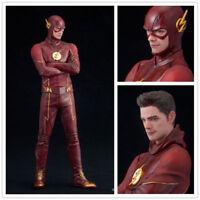 The Flash Barry Allen Comic Super Hero TV Series Figurine Toy Figure 17.5CM/7''
