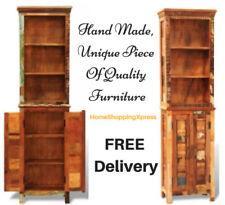 reclaimed wood bookcases shelving storage for sale ebay rh ebay co uk