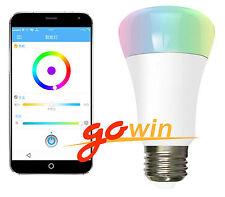RGB LED Wireless WIFI Control Smart Light Bulb 220V 7W E27