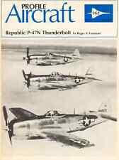 AERONAUTICA AIRCRAFT Publications Profile 262 - Republic P-47N Thunderbolt - DVD
