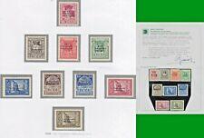 ITALY COLONIE EGEO 1930 XXI CONGRESSO IDROLOGICO S. 3 cpl MLH* CERTIF