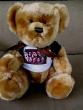 "American Idol Live Tour 2006 Plush Bear 10"" Tall Sitting Wearing Special T-shirt"