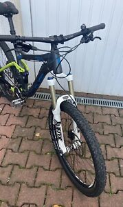 "Radon Slide 150 Mountenbike Sram Fox Dt Swiss Fully Fahrrad Syntace Gr.M 18"" Mtb"
