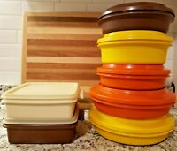 Large Lot of Food Storage Microwave Tupperware Containers 1336 1206 1362