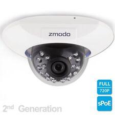Zmodo 720p sPoE Hd Dome IP Camera ZM-SS76D001-S Male MicroUSB ZP-IDQ13 2nd Gen