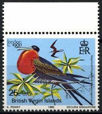British Virgin Is. 1980 SG#440, 25c Bird Wmk Crown To Left MNH #D16048