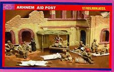 BUM Models 1/72 BRITISH AT ARNHEM AID POST WITH RUIN & ACCESSORIES Figure Set