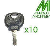 14607 KEY X 10 MANITOU, AUSA, JCB