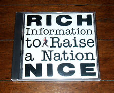 CD: Rich Nice - Information to Raise a Nation / The Rhythm Feeling Outstanding