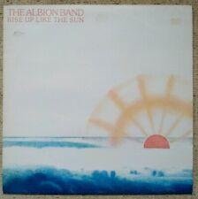 The Albion Band 'Rise Up Like The Sun' (1978) vinyl LP Harvest SHSP 4092 NM/EX