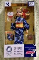 Japan Olympic Tokyo 2020  Rika Licca Chan emblem Yukata Kimono Takara Tomy