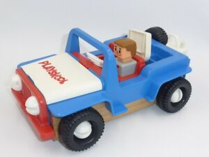 Vintage Playskool Take Apart Jeep very good condition