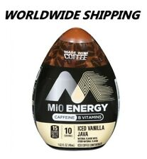 MiO Energy Iced Vanilla JavaLiquid Water Enhancer 1.62 Fl Oz WORLDWIDE SHIPPING