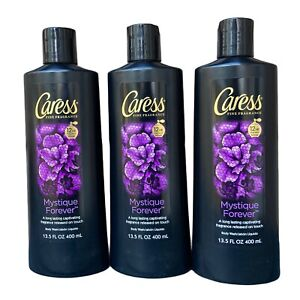 3 Caress Fine Fragrance MYSTIQUE FOREVER Body Wash DISCONTINUED Original Formula