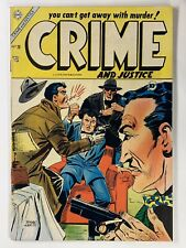 Crime and Justice #20 FVF 1954