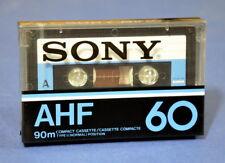 1 x SONY AHF 60 JAPAN  CASSETTE KASSETTE IEC I  OVP 1978