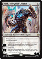 Karn, the Great Creator - Foil x1 Magic the Gathering 1x War of the Spark mtg ca