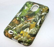 Samsung Galaxy S2 Sprint / Verizon -HARD&SOFT RUBBER HYBRID CASE CAMO MOSSY TREE