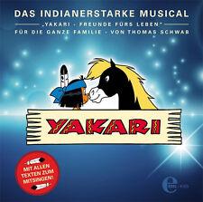 CD * YAKARI - FREUNDE FÜR'S LEBEN : DAS MUSICAL #  NEU OVP &