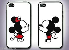 2 Pack - Mickey and Minnie Kissing Design Iphone 4  4s cases
