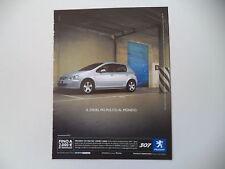 advertising Pubblicità 2004 PEUGEOT 307 HDI