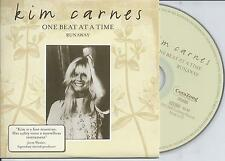 KIM CARNES - One beat at a time CD SINGLE 2TR CARDSLEEVE 2005 HOLLAND