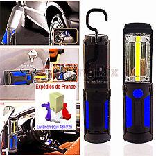 BALADEUSE LAMPE  LED RECHARGEABLE  3W+1 LED SECTEUR/BATTERIE/USB   BRAS AIMANTÉ