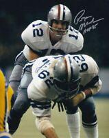Roger Staubach Autographed Signed 8x10 Photo HOF Cowboys REPRINT