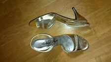 Roland Pierre Sandalen Schuhe Gr.41 (1mal getr.) Gold (Made in Italy)