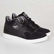 PUMA Becker Leather Wohnzimmer 360774-01 Black Men Size US 9.5 New Authentic