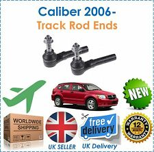 For Dodge Caliber 1.8i 2.0DT 2.0i 2006- 2 Outer Track Tie Rod End Set New