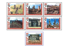 CZA9902 Monuments of the world 7 stamps