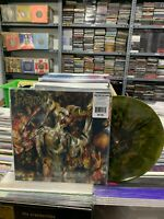 Incantation LP The Infernal Storm Green Und Gold Merge Splatter