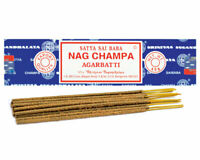 NAG CHAMPA 40 GRAM INCENSE STICKS - AUTHENTIC NAG CHAMPA SCENT FROM BANGALORE