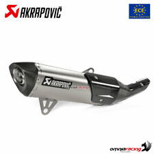Akrapovic exhaust Euro4 approved titanium for BMW C400X/C400GT 2019>