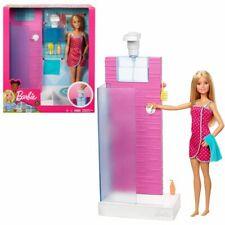 Barbie Mobilier douche Mattel Fxg51