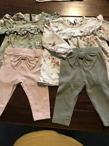 Newbie Twin Girls Outfits 4-6 Months