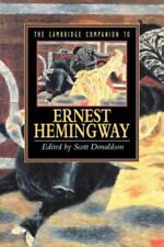 The Cambridge Companion to Ernest Hemingway 1996 by Scott Donaldson Paperback
