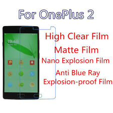 3pcs For OnePlus 2 High Clear/Matte/Nano Explosion/Anti Blue Ray Screen Film