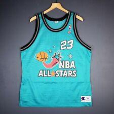 100% Authentic Michael Jordan Vintage Champion 1996 All Star Jersey Size 48  L XL 2ab07b751