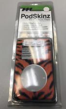PodSkinz iPod 4th Gen 40GB Cling-Vinyl, form fitting Tiger Skin