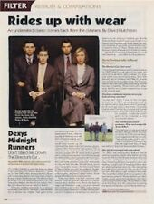 Dexy's Midnight Runners a retrospective Interview