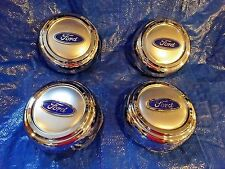 "1993 1994 1995 1996 1997 FORD CROWN VIC 15"" ALLOY  WHEEL NEW CENTER CAPS set"