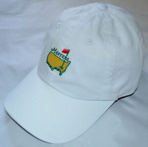 2018 MASTERS (WHITE) Slouch Golf HAT from AUGUSTA NATIONAL